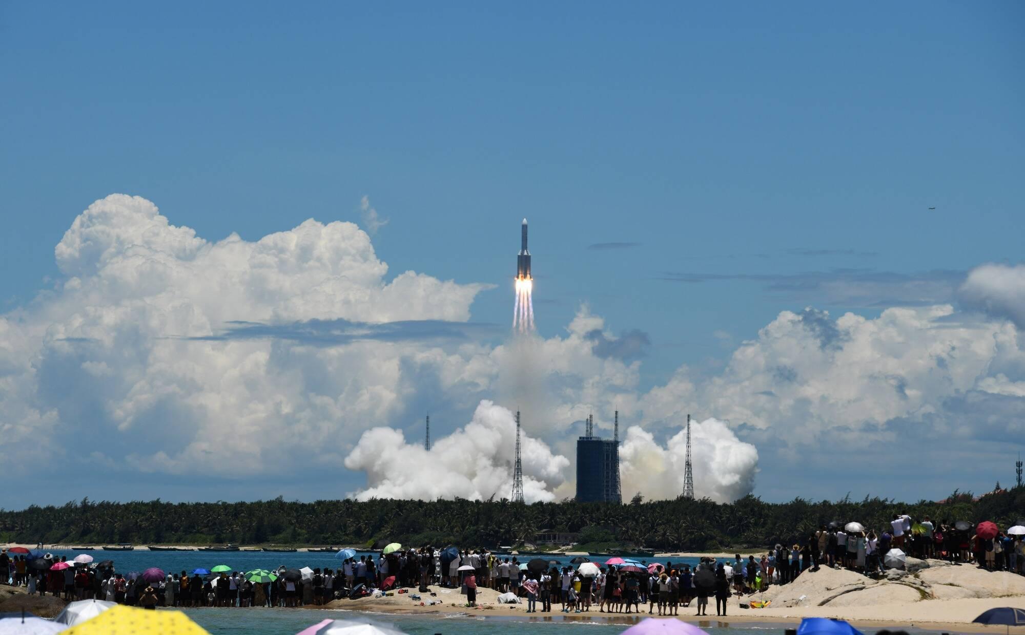 """Зонд по исследованию Марса """"Тяньвень-1 запустили в космос 23 июля"""