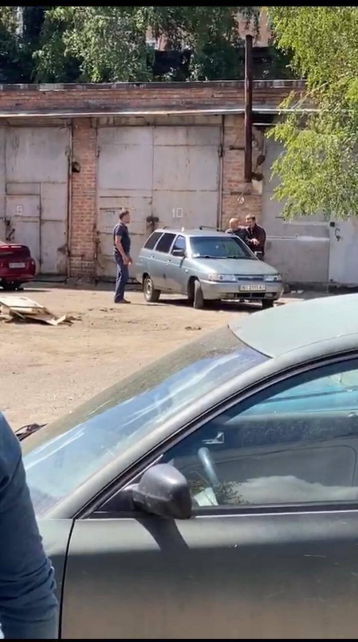 Захват заложника в Полтаве