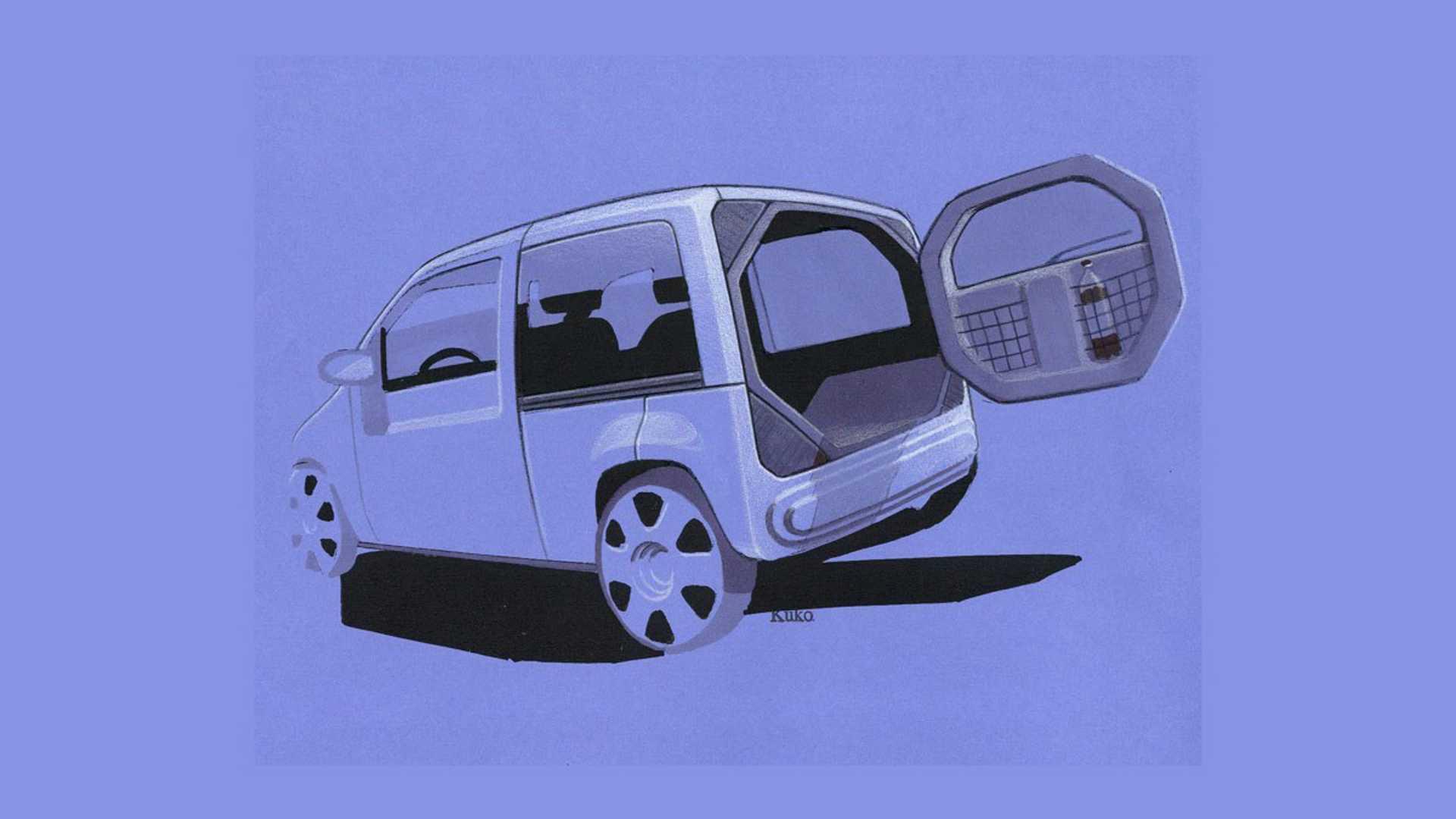 Дизайнери постаралися втілити практичні рішення в компактному кузові.
