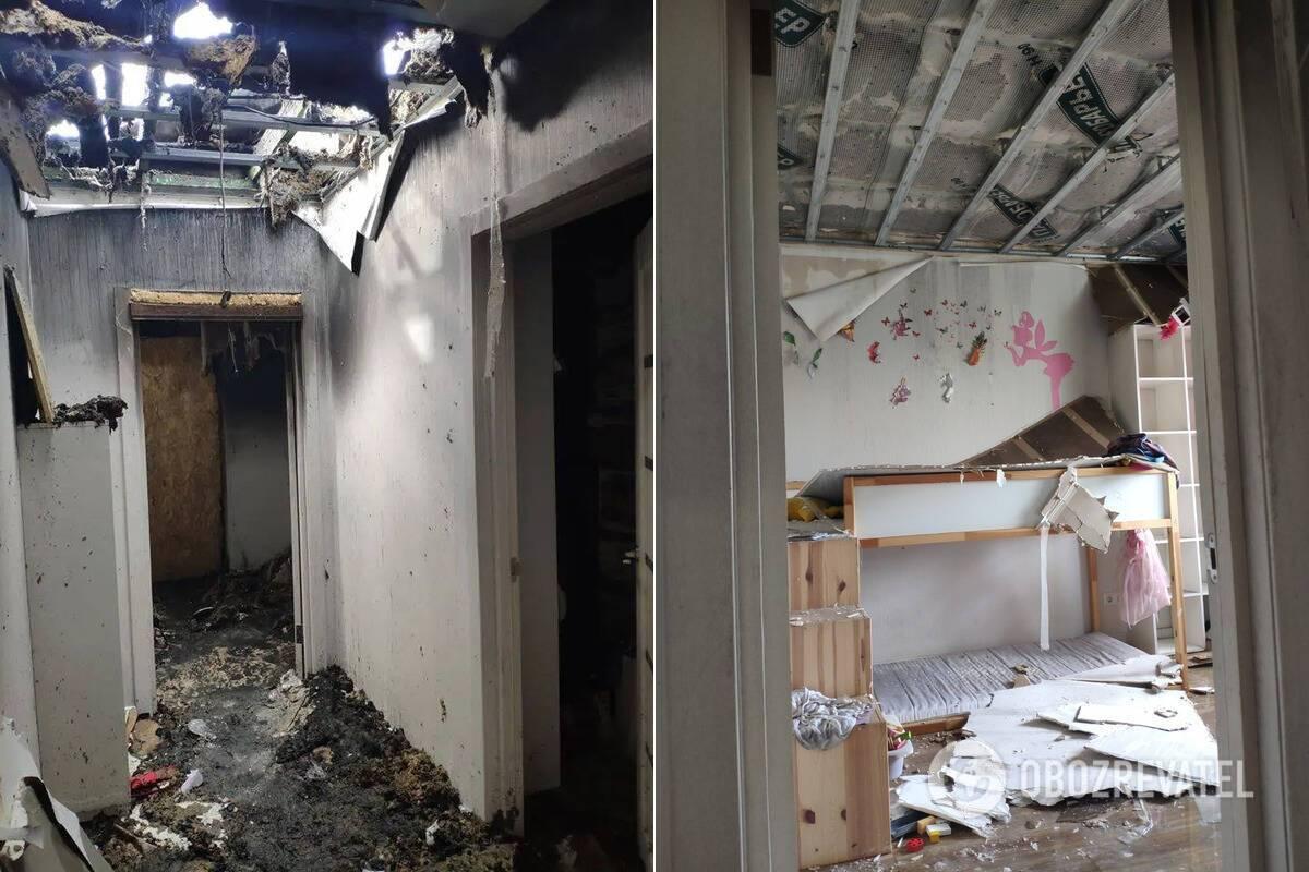Сгоревший дом Шабуинина