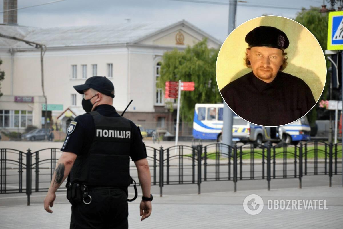 В Луцке террорист Максим Кривош захватил автобус с пассажирами, его задержали и поставили перед судом