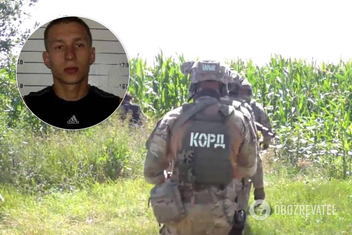 КОРД разыскивает полтавского террориста-беглеца Романа Скрипника