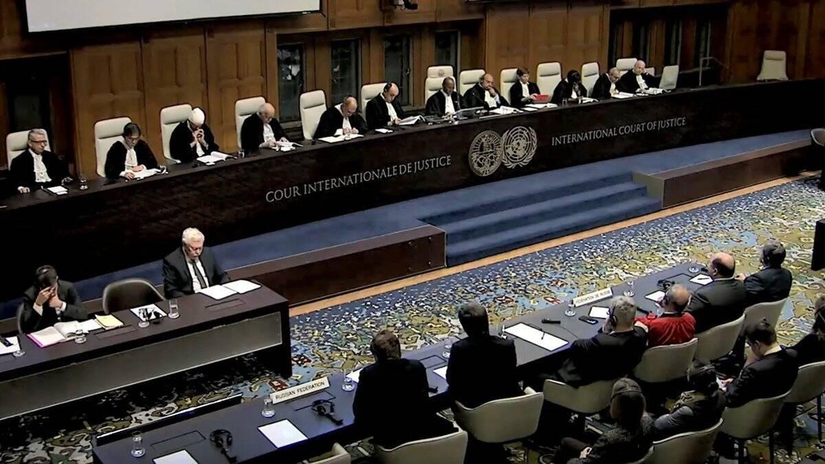 Заседание суда ООН относительно действий Кремля в Крыму и на Донбассе