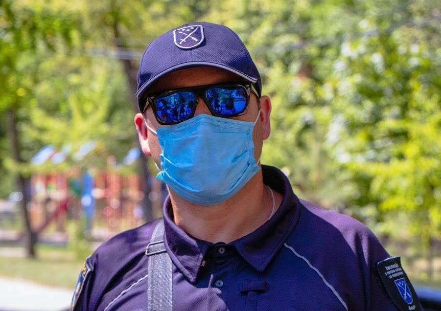 Головний спеціаліст інспекції з питань контролю за паркуванням, інспектор Євген Тернов
