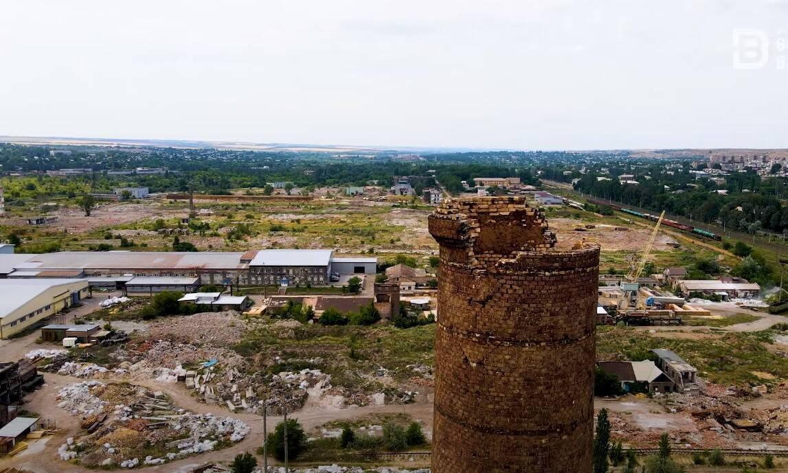 Константиновка превратился в сплошную разрушенную промзону