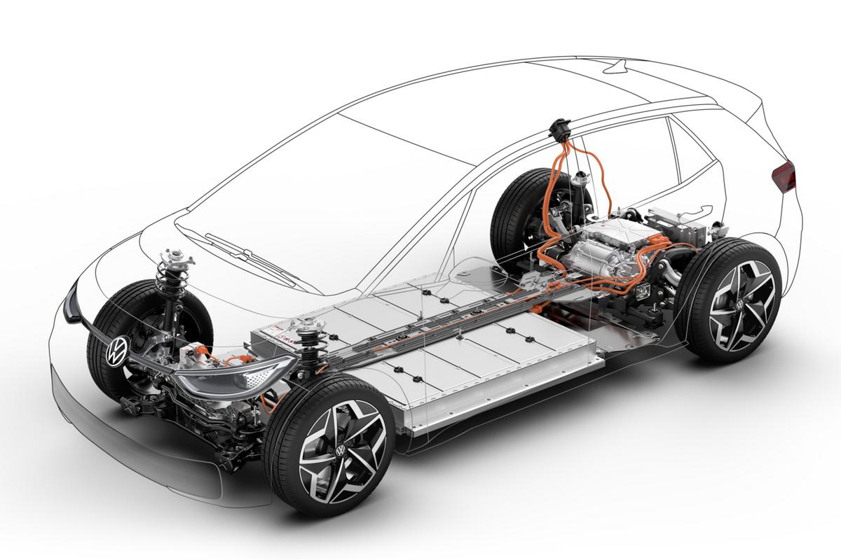 VW ID.1 будет использовать электрическую платформу МЕВ. Фото: