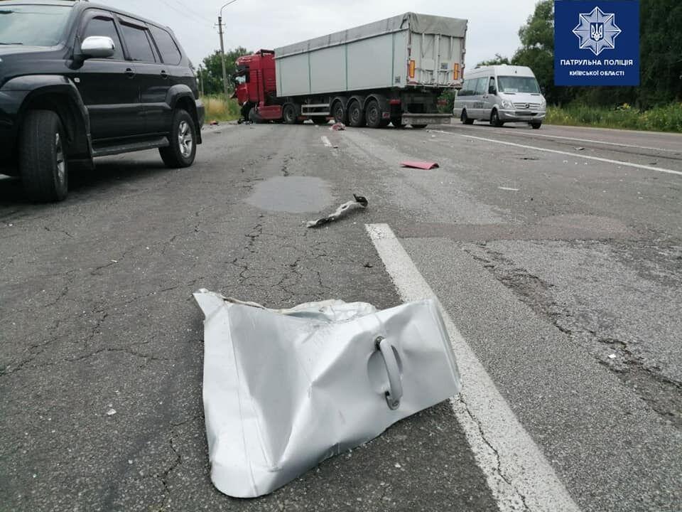 У ДТП розбилися 3 авто