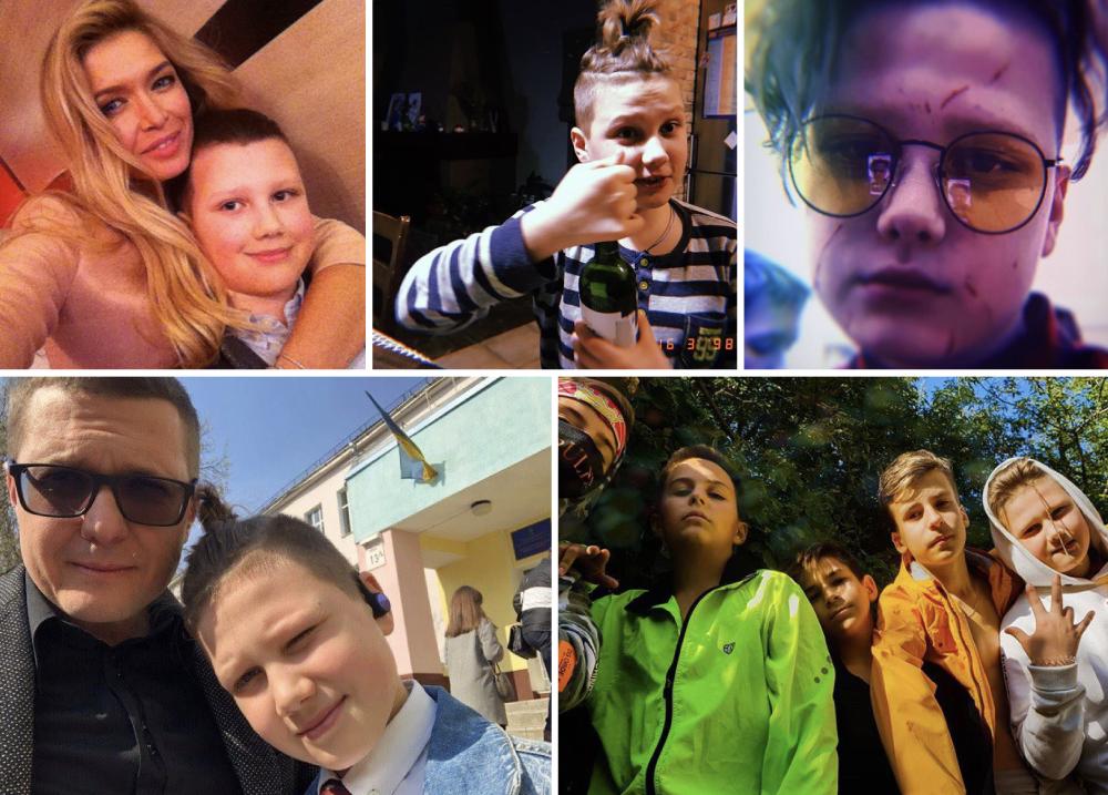 Младший сын Баканова Степан