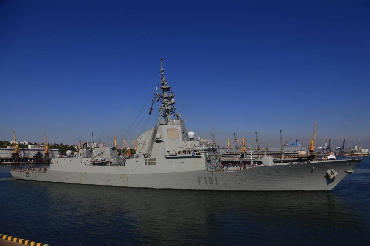 Корабли НАТО зашли в Одессу