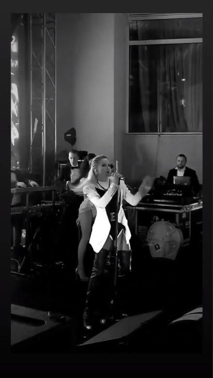 Лобода вперше за три роки виступила в Україні (скриншот з відео)