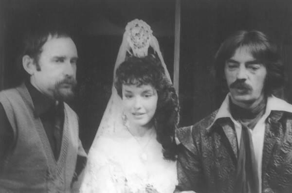 Боярский и Самохина на съемках