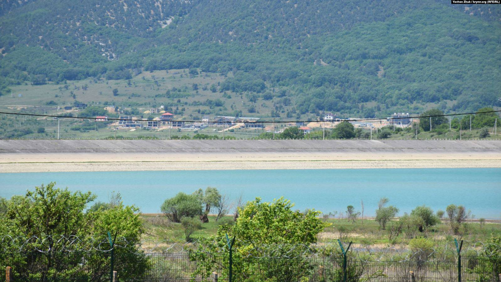 У Севастополі обміліло Чорноріченське водосховище
