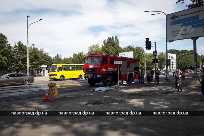 У Павлограді пішохід загинув під колесами вантажівки