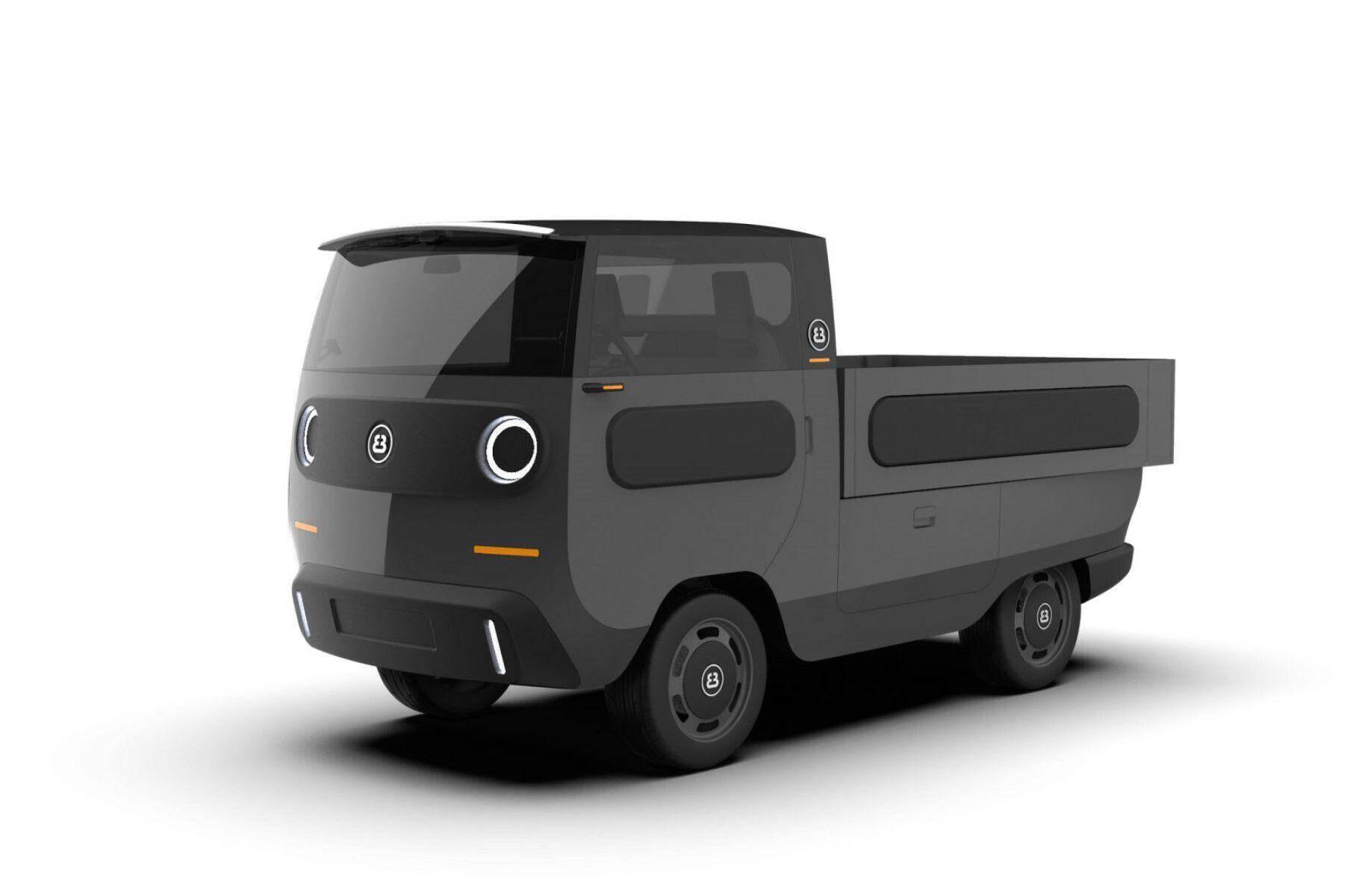 Электромобиль eBussy может быть грузовиком...