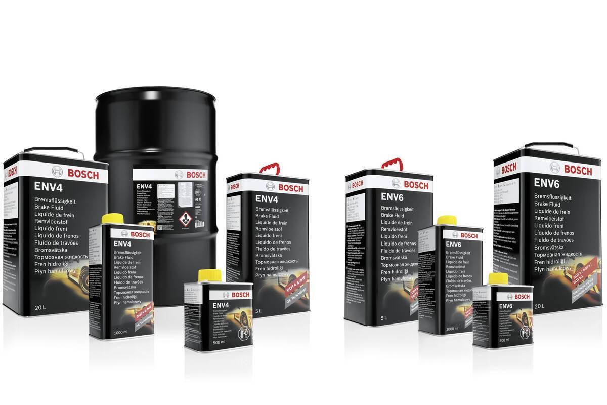 Компания Bosch постоянно совершенствует и расширяет ассортимент тормозной жидкости. Фото: