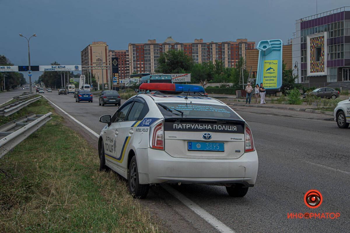 ДТП на Слобожанському проспекті в Дніпрі