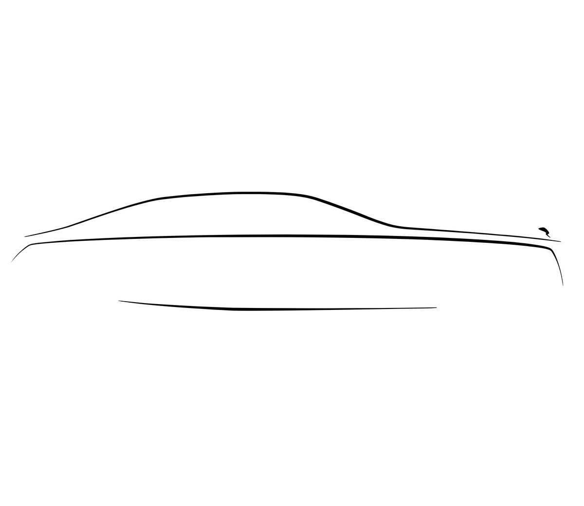 Рендер нового Rolls-Royce Ghost. фото: