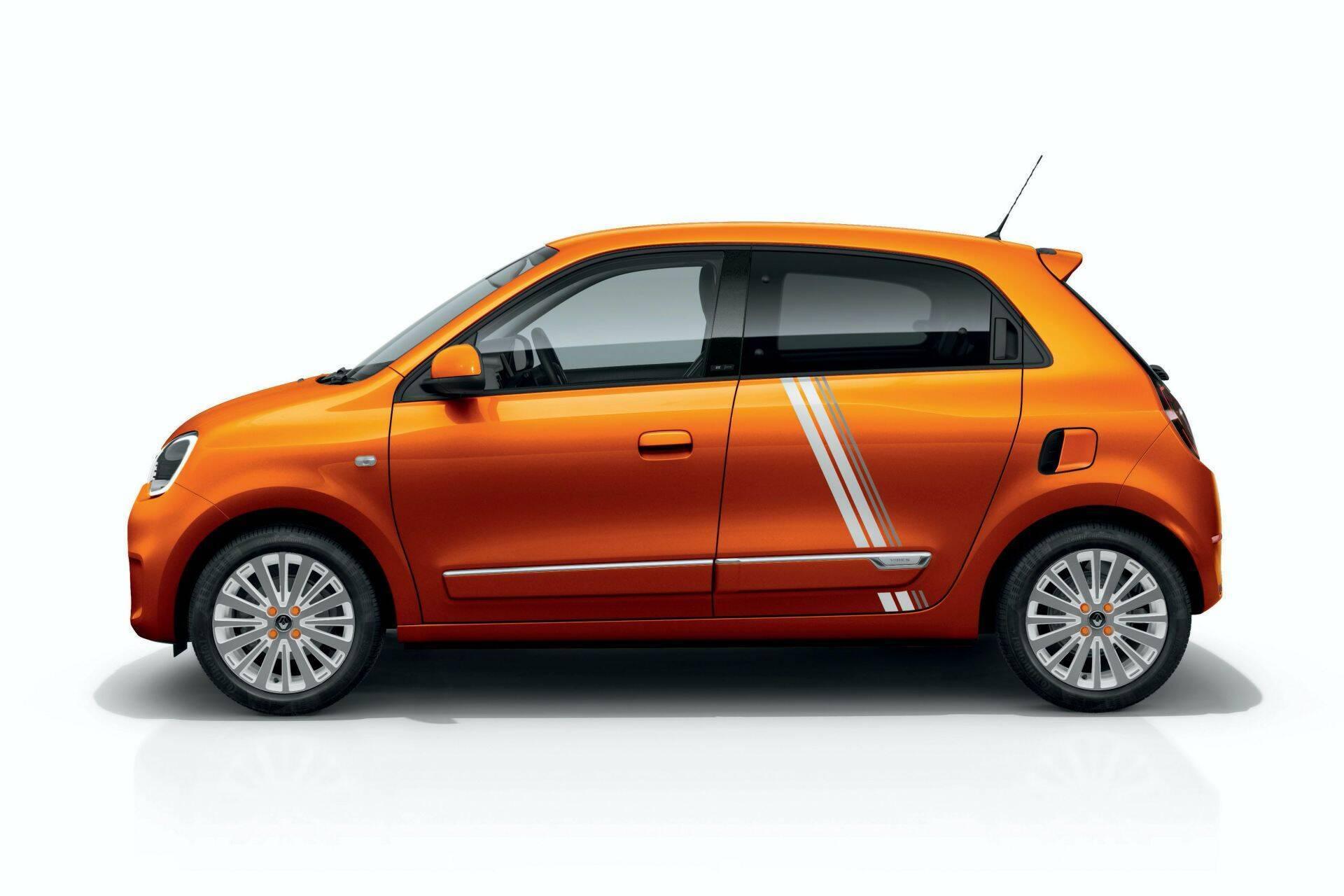 Renault Twingo ZE в исполнении Vibes.