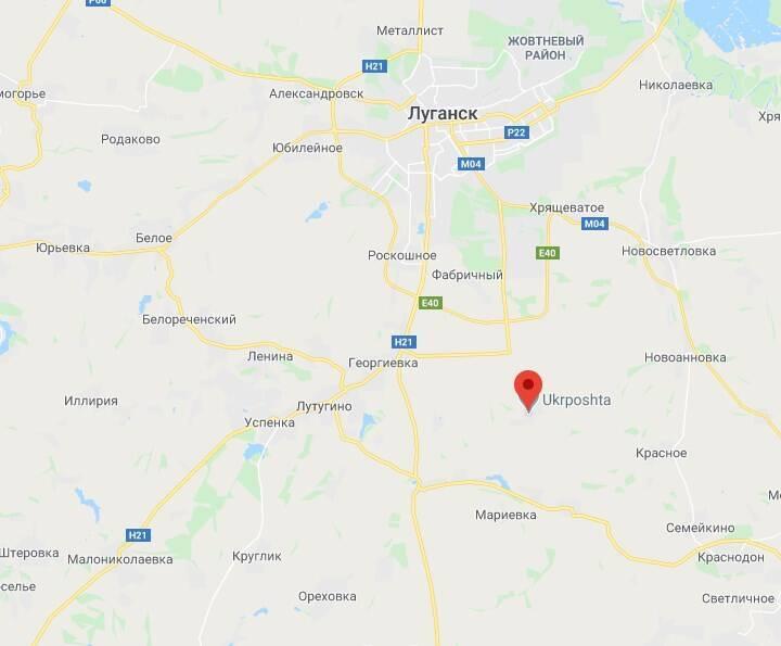 Военная техника обнаружена в селе Переможное.