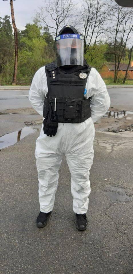 Работа патрульных на карантине