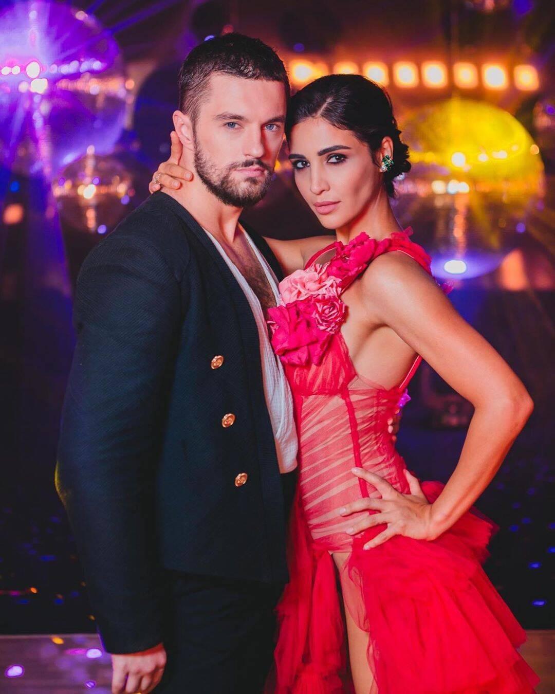 Макс Леонов і Санта Дімопулос (Instagram Танці з зірками на 1+1)