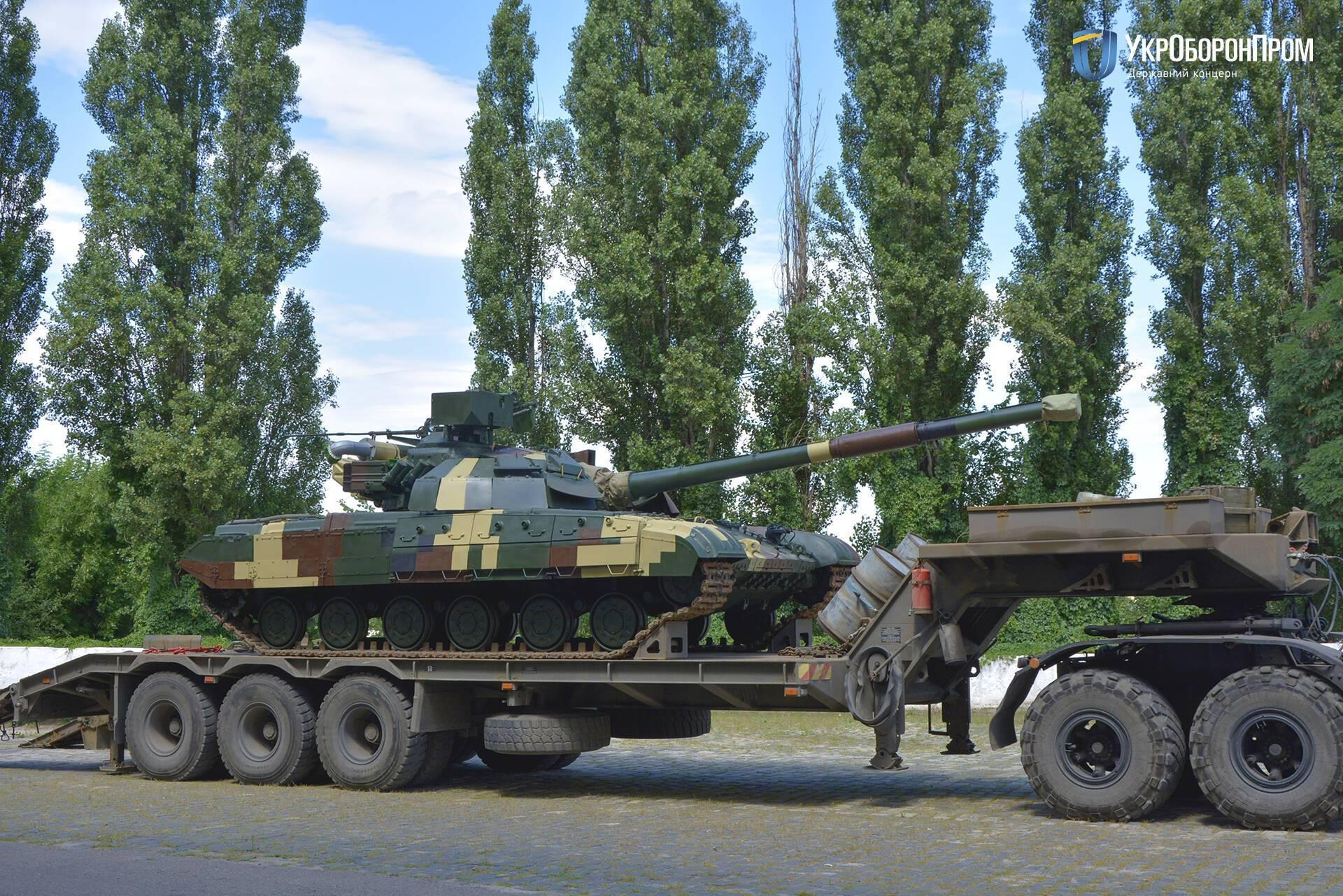 """Украинский танк БМ """"Булат"""""""