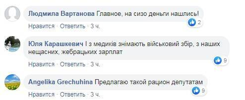 Реакция украинцев на условия в госпитале