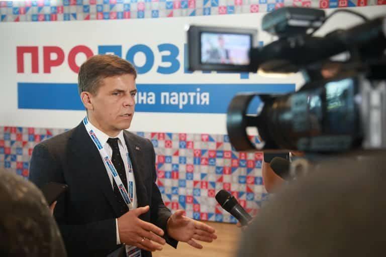 """Сухомлин рассказал об особенностях работы партии """"Пропозиція"""""""