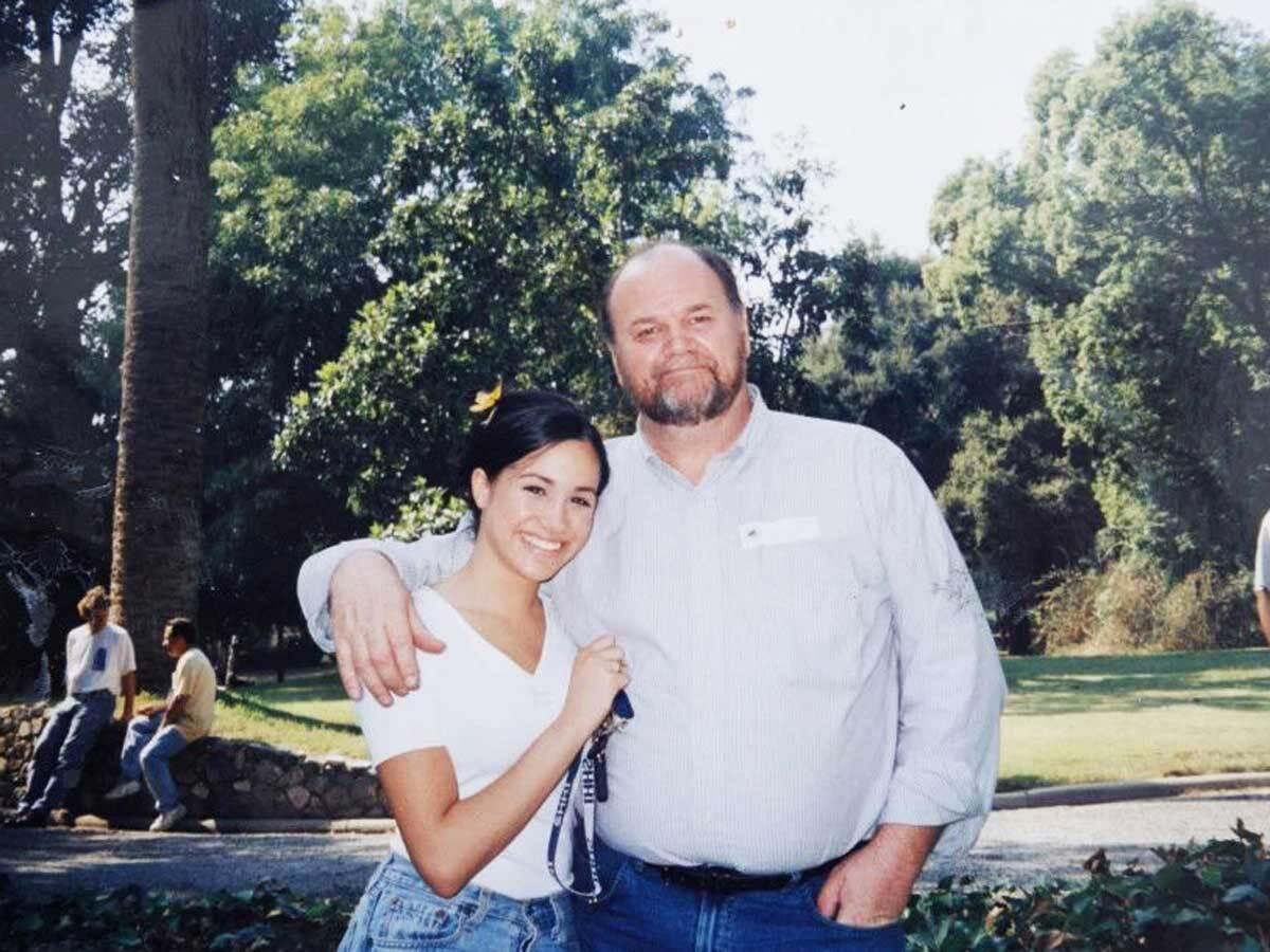 Меґан Маркл із батьком