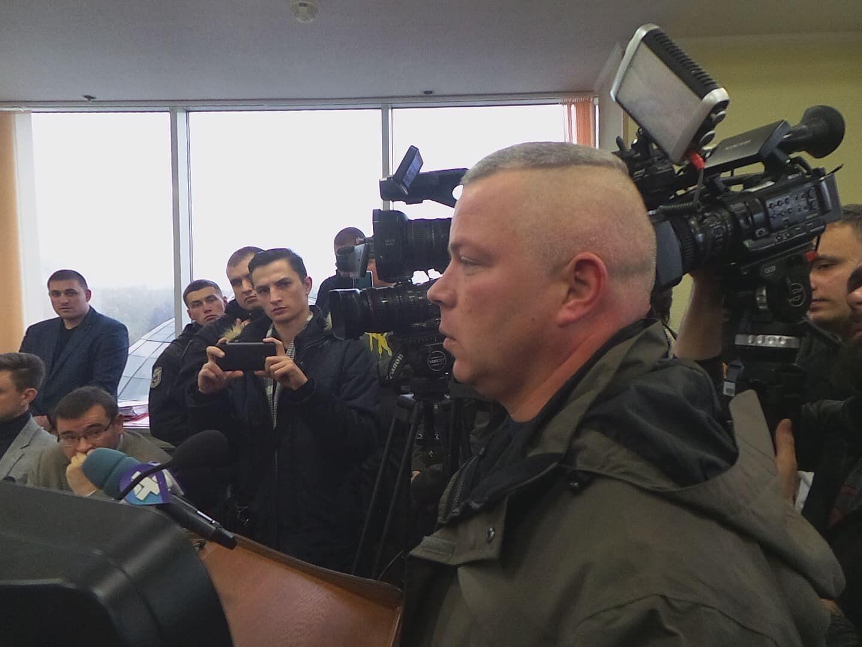 Михаил Забродский на одном из судебных заседаний по делу генерала Марченко