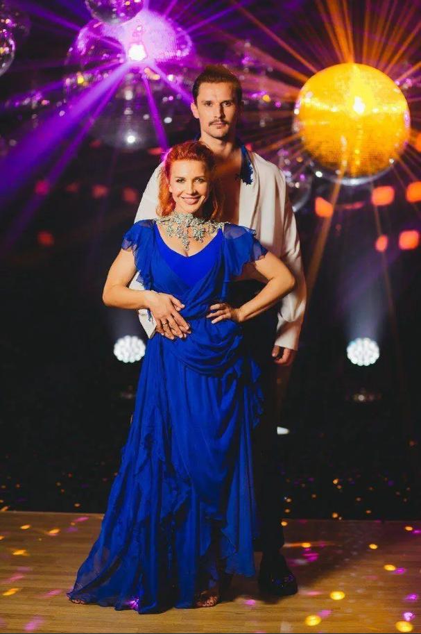 Яна Заец и Тарас Цымбалюк (Instagram Танці з зірками на 1+1)