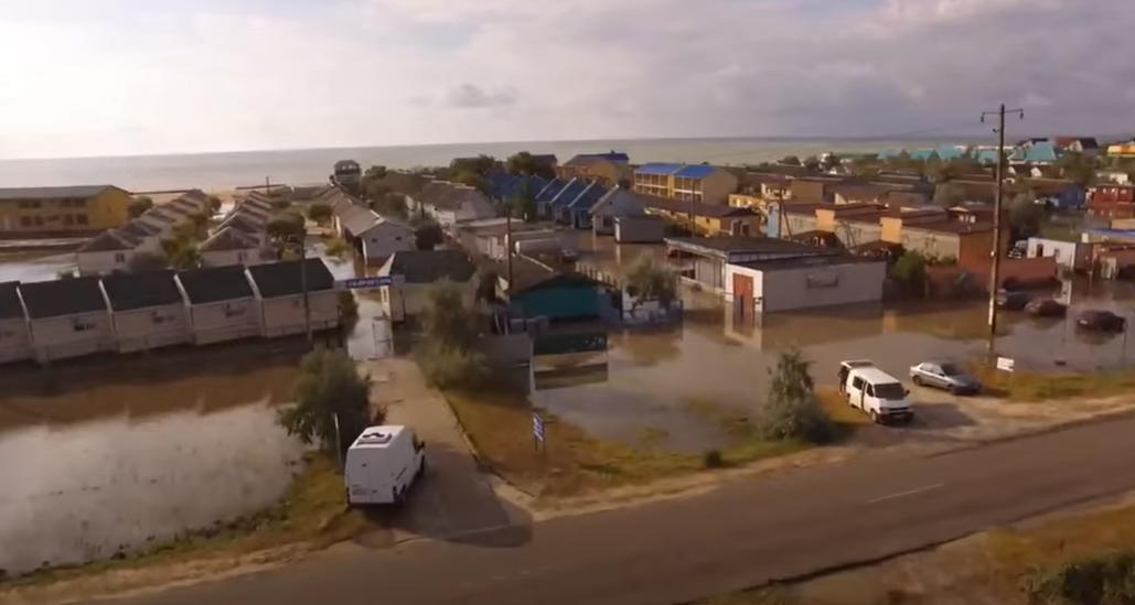 Кирилловку затопило из-за непогоды