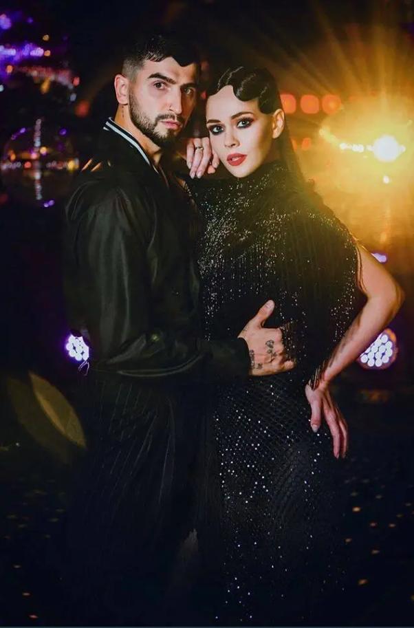 Дмитрий Жук и Юлия Санина (Instagram Танці з зірками на 1+1)