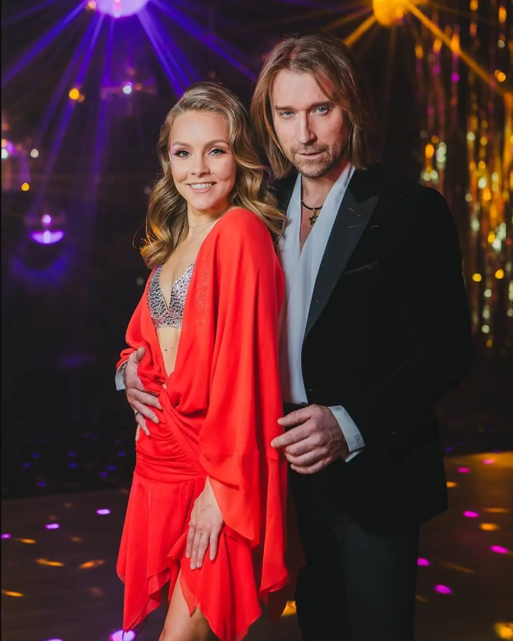 Олена Шоптенко та Олег Винник (Instagram Танці з зірками на 1+1)