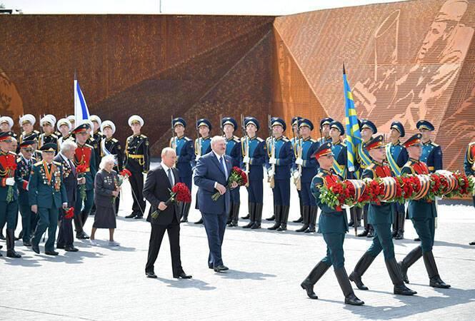 Лукашенко встречался с Путиным 30 июня. Фото - сайт президента Беларуси