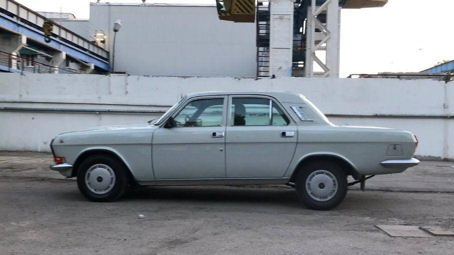 ГАЗ-24 для КДБ, яку продають за 32 000 доларів.