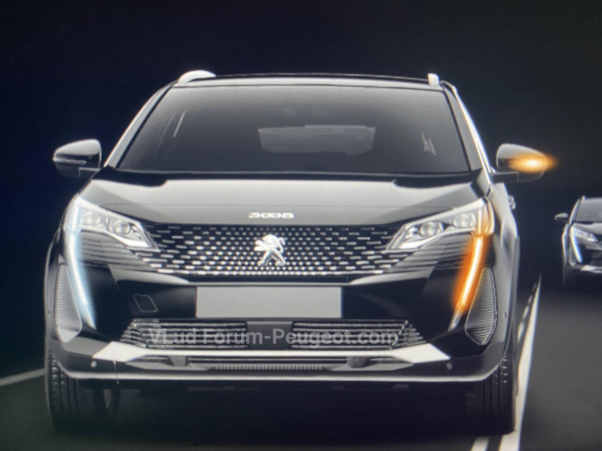 Фото Peugeot 3008 2021 модельного року вперше просочилися в мережу.