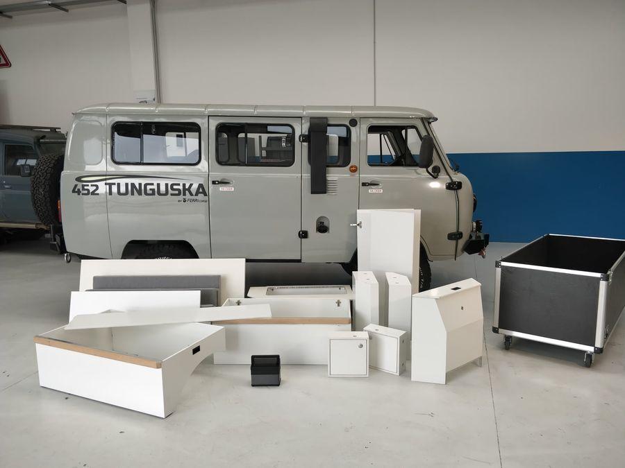 Комплект мебели можно установить за 1,5 часа и легко демонтировать.