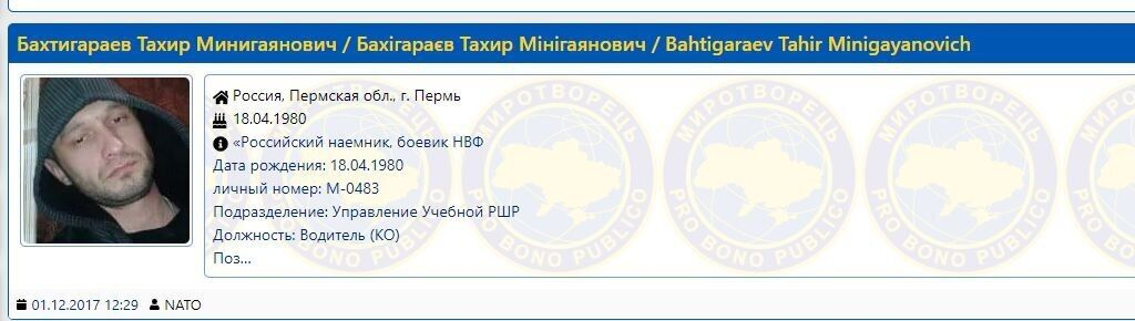 Тахір Бахтігараєв