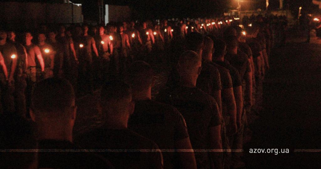 """В """"Азове"""" простились с убитым в Запорожье побратимом"""
