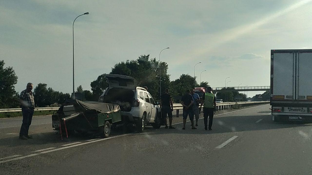 На трассе Киев-Харьков в Полтавской области произошло ДТП