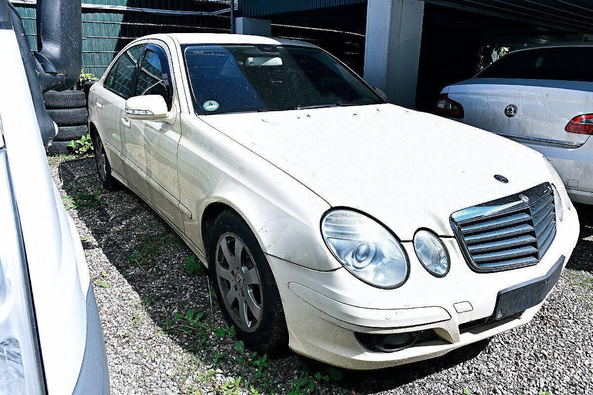 Mercedes W211 E200 CDI.