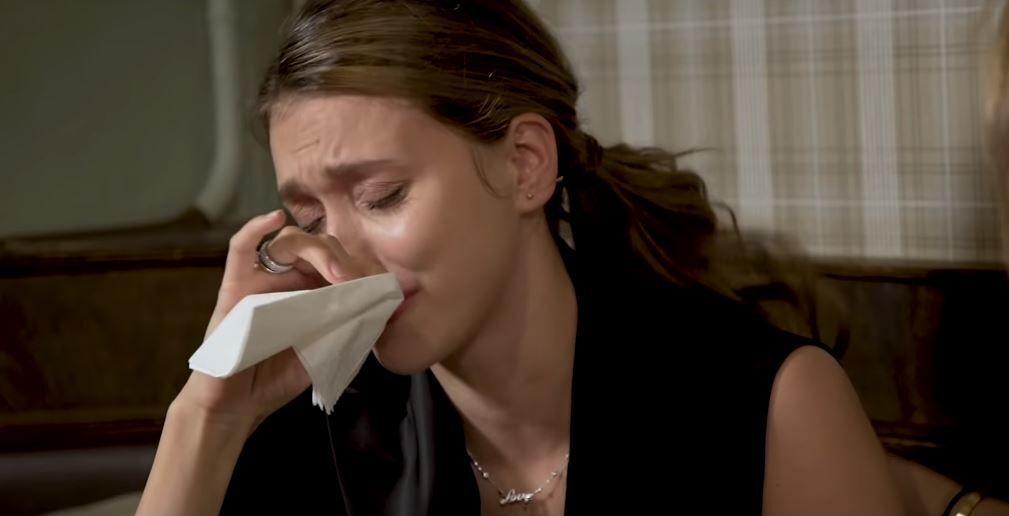 Тодоренко расплакалась из-за Украины