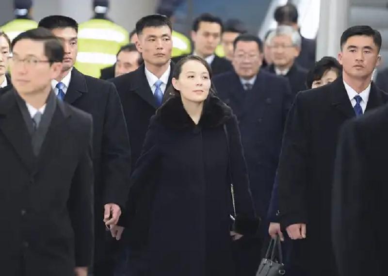 Ким Ё Чжон, по слухам, имеет большое влияние на брата