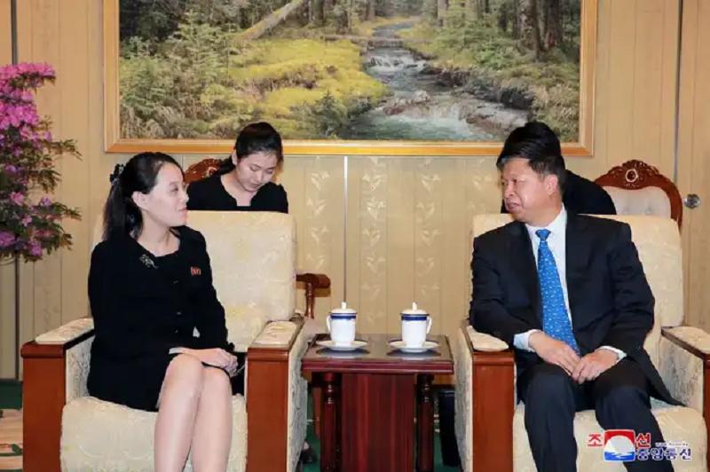 "Ким Ё Чжон известна в КНДР как ""первая сестра"""
