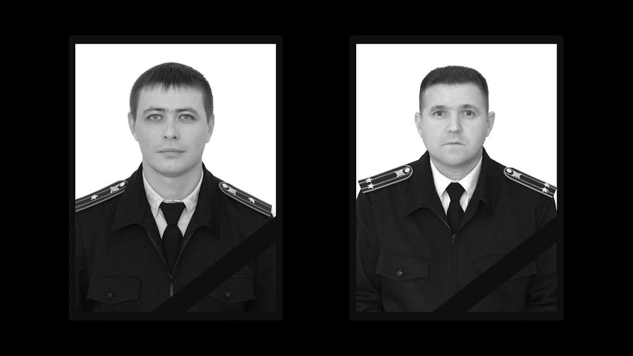 Убитые оккупанты Биккинин и Чумаков.