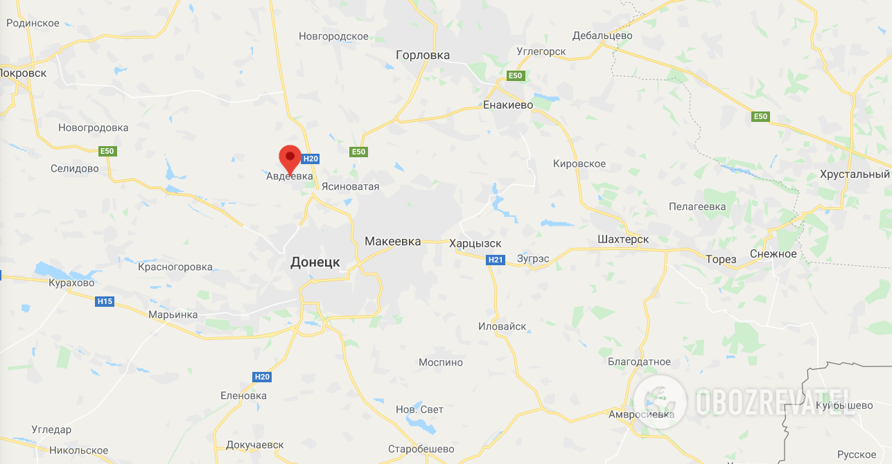 Окупанти зруйнували будинки мирних жителів під Донецьком. Фото