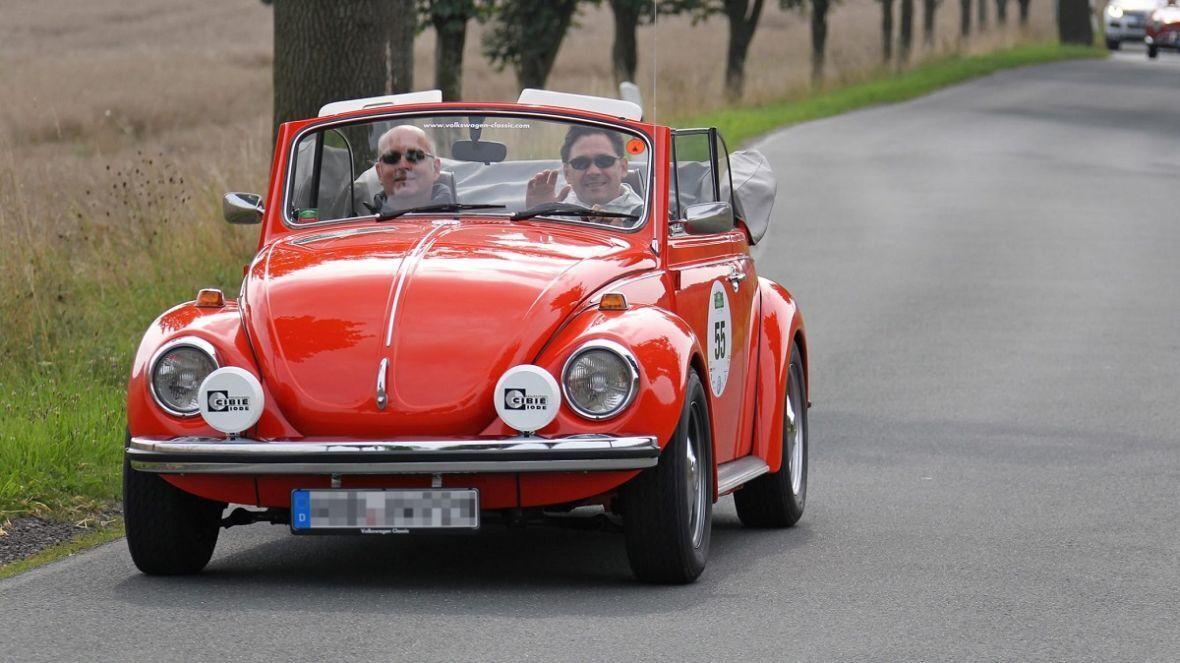 VW Kafer - самый популярный классический автомобиль в Германии.