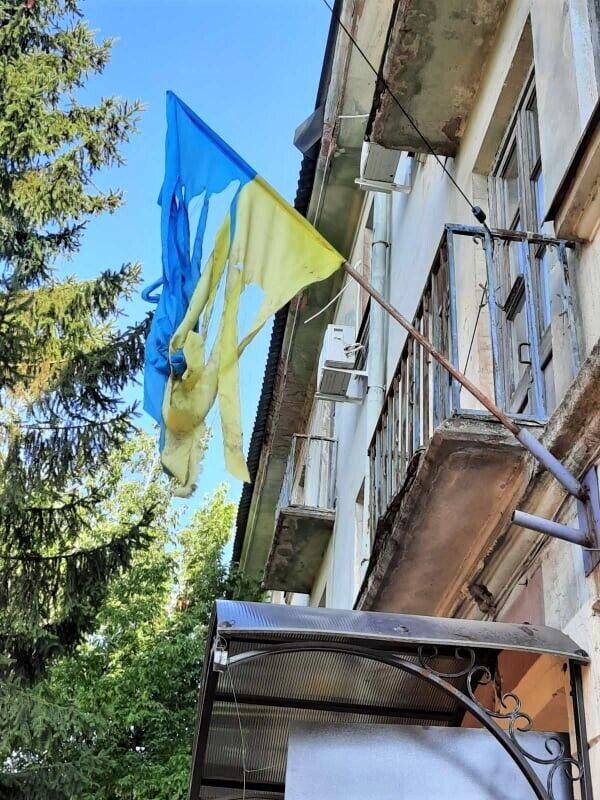 На Дніпропетровщині публічно поглумилися над прапором України