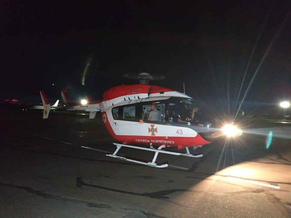 Вертолет ГСЧС